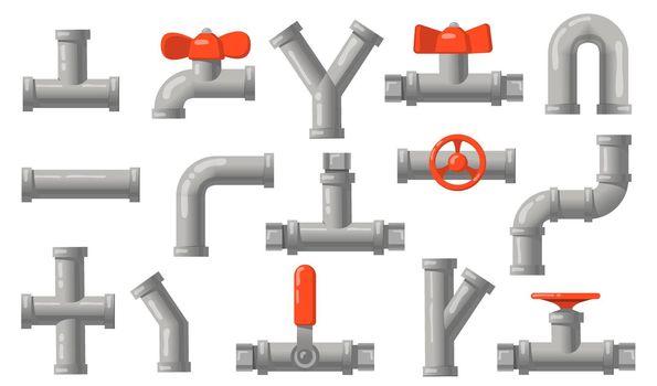 Plumbing pipes set