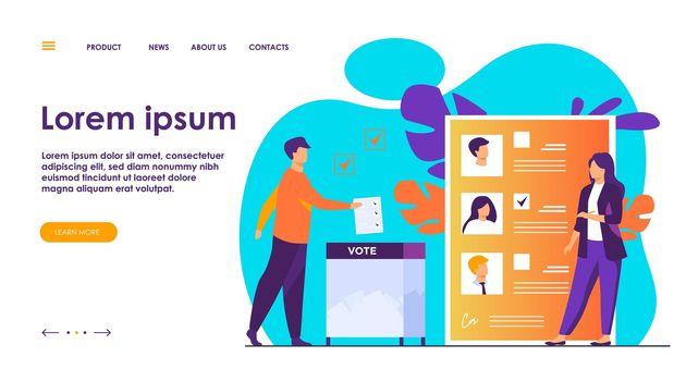 Election or referendum campaign