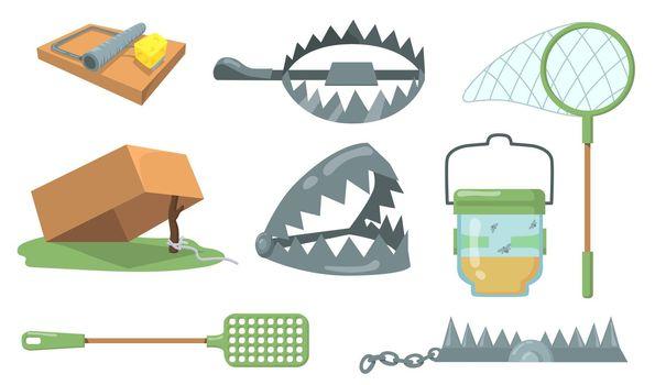 Animal traps set