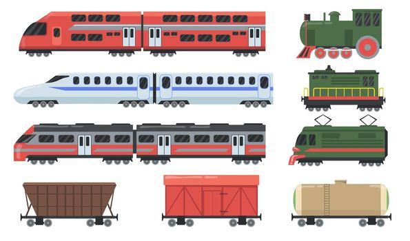 Different trains set
