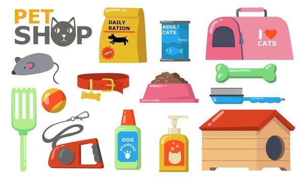 Pets supplies wet