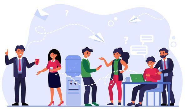 Contact methods between colleagues
