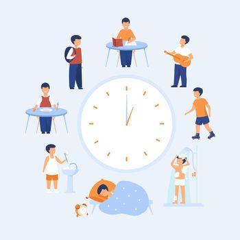 School child schedule