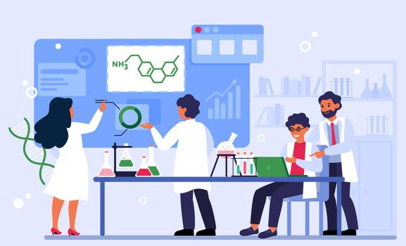 Chemistry and laboratory concept