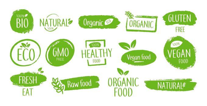 Bio product emblems