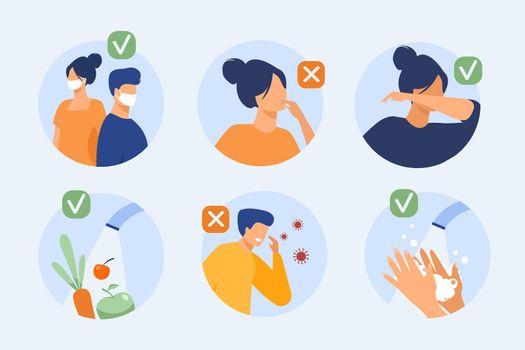 Protection from coronavirus tips