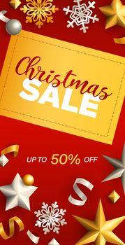Christmas Sale flyer design