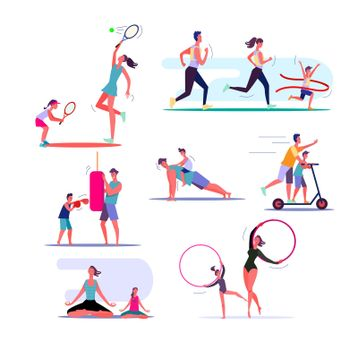 Set of families exercising