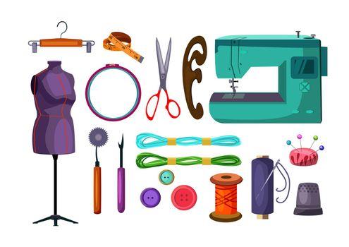 Sewing tools set
