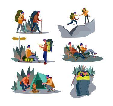 Adventure trekking set