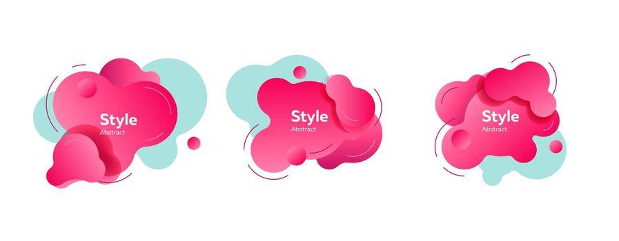 Bright modern graphic elements