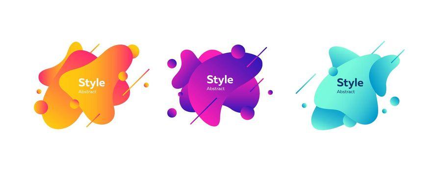 Creative badges set for app