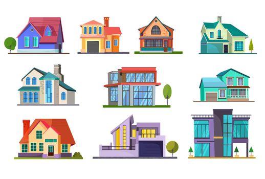 Apartment house set