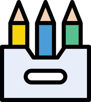 colors pencil