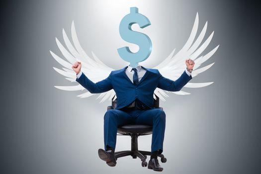 Angel investor in start-up concept
