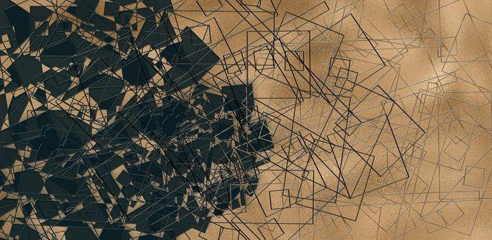 modern abstract triangular background