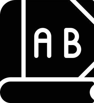 education vector glyph flat icon