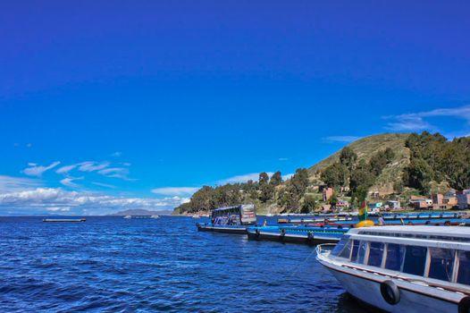 Titicaca Lake, Bolivia, South America