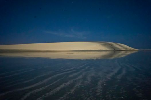 Jericoacoara, Tropical beach night view, Brazil, South America