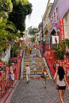 Rio de Janeiro, Selaron Steps, Brazil, South America