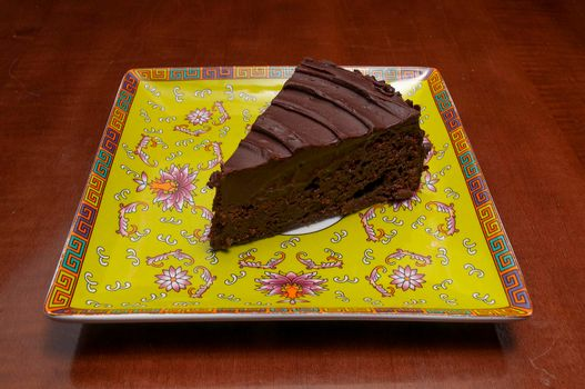 Delicious baked good known as the chocolate torte