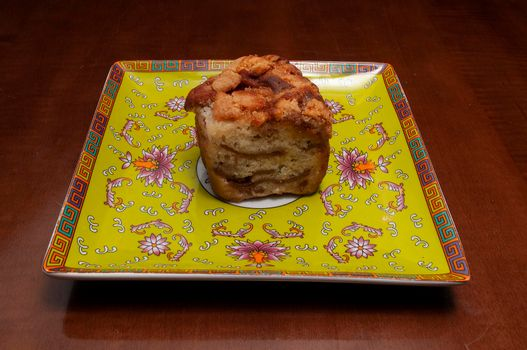 Delicious baked good known as apple cake