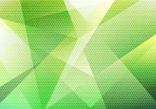 Abstract modern background green low polygon with triangle pattern texture.