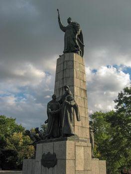 Monument to Bogdan Khmelnitsky. Monument to Bogdan Khmelnitsky. Monument to Bogdan Khmelnitsky.