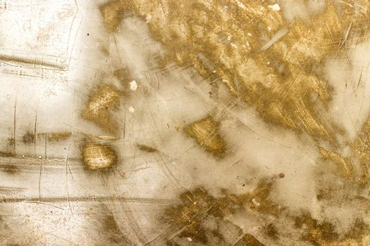 wall metal white and gold texture background.