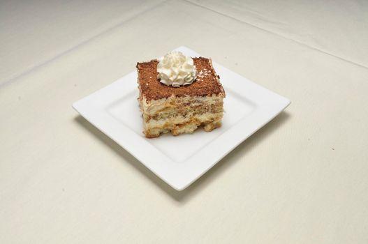 Delicious and authentic Italian dessert known as Tiramisu