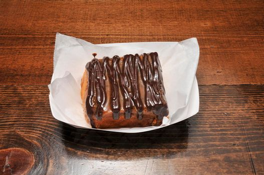 Delicious confectionary treat known as the Nutella Sticky bun