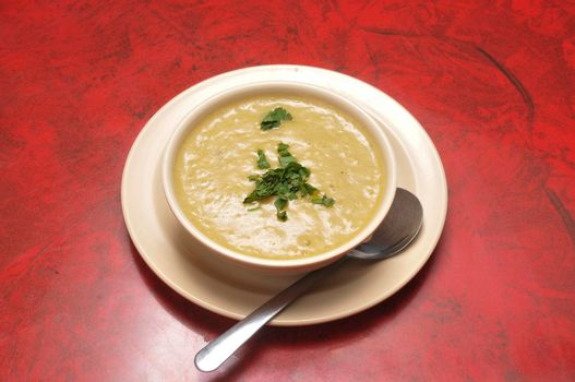 Delicious and delectable dish known as lentil soup