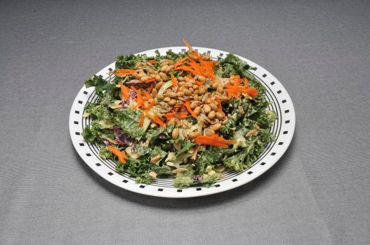 Delicious vegetarian dish known as the kale salad