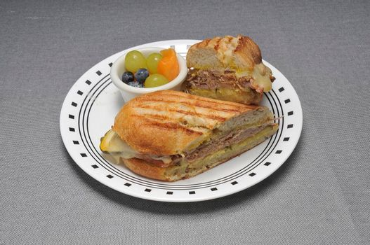 Delicious Caribbean dish known as the Cuban sandwich