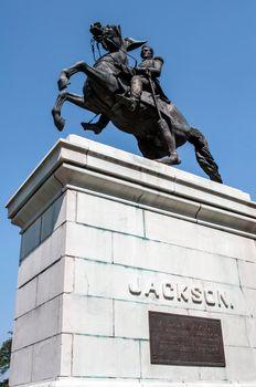 Monument to Andrew Jackson.