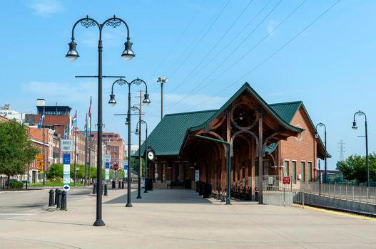 Riverfront bus & train station, Nashville, Tennessee.