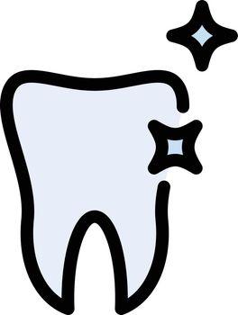 teeth shine