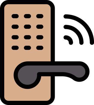 handle lock wireless