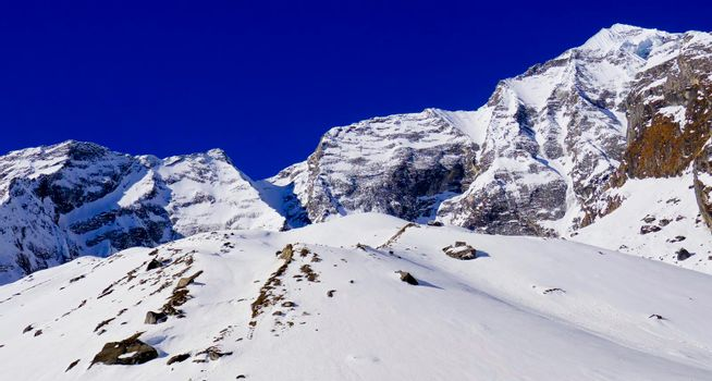 Annapurna Range, Annapurna Conservation Area, Himalaya, Nepal