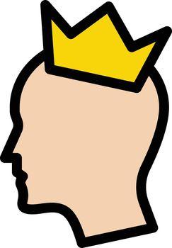 head crown