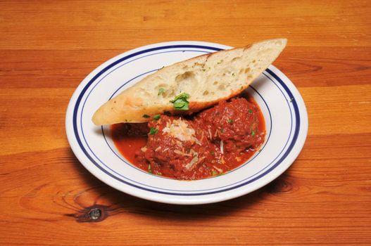 Authentic Italian cuisine known as a vegetarian meatball