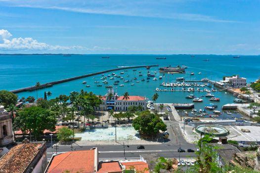 Salvador de Bahia, Old port view, Brazil, South America