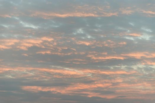 The softness of the clouds and the brightness of the beautiful sky.