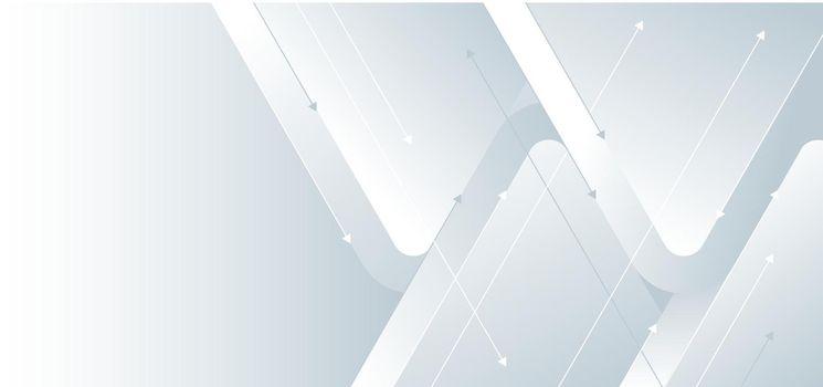 White gradient arrow direction design background