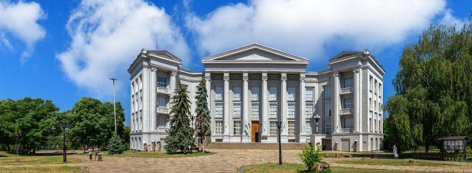 Kyiv, Ukraine 07.11.2020. National Museum of the History of Ukraine in Kyiv, Ukraine, on a sunny summer day