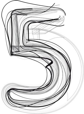 Abstract Doodle Number 5