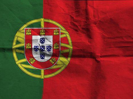 Grunge PORTUGAL flag
