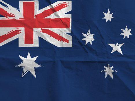 abstract AUSTRALIAN flag