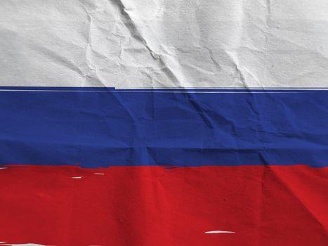 Grunge RUSSIA flag