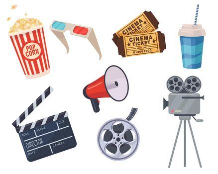 Cinema elements set
